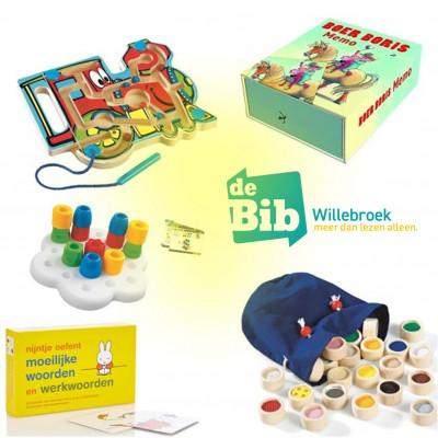 (educatief) spelmateriaal op aanvraag, gratis uit te lenen!